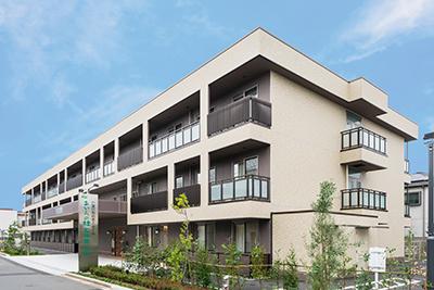 11月1日 新築オープン「介護付有料老人ホーム あいらの杜 石神井公園」